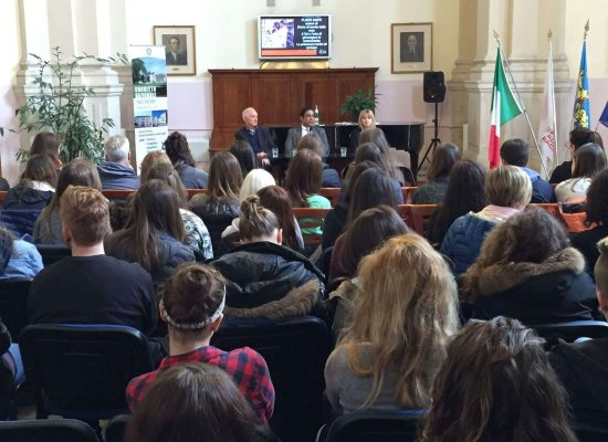 Meeting with students specialized in MUN in Cividale del Friuli